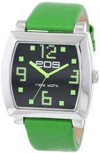 EOS New York 131LGRN Syntax Green Leather Strap