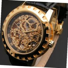 "Eric Edelhausen ""Dorado"" Gold Plated Automatic Skeleton"