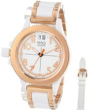 ESQ Movado 07101403 esq Fusion Rose-Ion Plated Interchangeable Strap