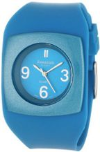 Essential by A.B.S 40013 Genuine Aqua Silicon Strap