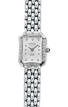 Euro Geneve 14K White Gold Ladies' Diamond Rectangle With Panther Band-47662