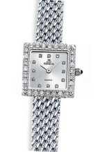 Euro Geneve 14K White Gold Square Ladies' Diamond With Mesh Band-47659