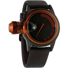 Eviga Bulletor (Black Dial; Brown Bezel)