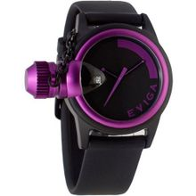 Eviga Bulletor (Black Dial; Purple Bezel)