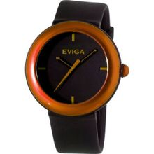 Eviga Cirkle (Black Dial; Brown Bezel)
