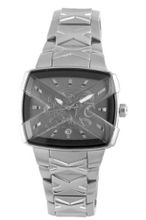 Exte EX.4008M-15M silver stainless-steel band .