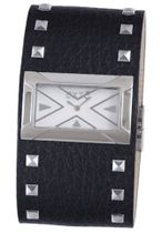 Exte EX.4017M-05 black calfskin band .