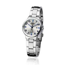 uEyki by Ufingo Ufingo-Fashion Cool Luxury Stainless Steel Band Quartz With Calendar For /Ladies/Girls-Blue