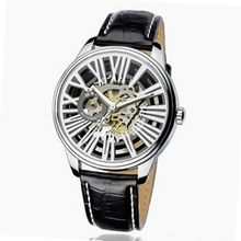 uEyki by Ufingo Ufingo-Fashion Korean Automatic Mechanical Cool For /Boys-Black Band White Dial