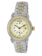 Faconnable Two-Tone Stainless Steel City  with Beige Dial