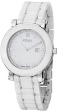 F642140D Diamond Ladies - White Dial Ceramic Case Quartz Movement