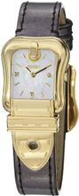 Fendi B. Fendi Ladies Mother-of-Pearl Diamond Dial Yellow Gold Plated F380424521D1
