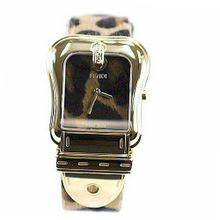 Fendi B. Fendi Large Animal Print Dial & Strap Gold Plated Quartz - F375122