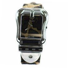 Fendi B. Fendi Large Animal Print Dial & Strap Quartz - F374122
