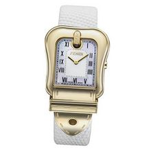 Fendi B.Fendi Gold-Plated Large Mother-of-Pearl Dial #F373144