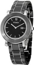 Fendi Ceramic Black Diamond Dial and Bracelet Quartz - F641110D