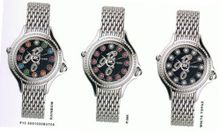 Fendi 'Crazy Carats' Thirty-Six Pavé Diamond Markers Black Diamond Dial And Diamond Bezel F105031000B3T05