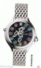 Fendi 'Crazy Carats'6,9,12 Pave Diamond Markers 3 Color Topaz Sapphire Crystal