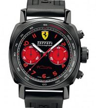 Ferrari - Engineered by Officine Panerai Special Editions Officine Panerai Ferrari Chronograph DLC