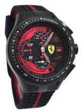 Ferrari 0830077 Scuderia SF103 Chrono Black/Red Race Day Rubber  NEW