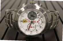 Ferrari 0830082 Stainless Steel All White Dial Chronograph