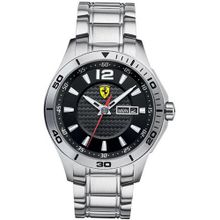 Ferrari 0830094 Stainless Steel Black Dial