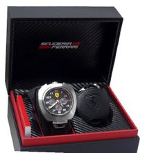 Ferrari 0830103 Chronograph Black Dail & Leather Strap