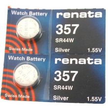 #357 Renata Batteries 2Pcs