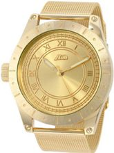 Flud BBN012 Big Ben Mesh Gold-Tone Stainless Steel