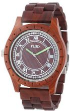 Flud BBN028 The Big Ben Wooden Analog Red Wood