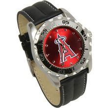 MLB Los Angeles Angels of Anaheim Game Time Leather - Black