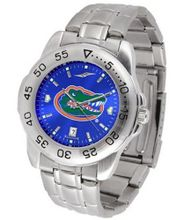 NCAA Florida Gators Anochrome Sport with Stainless Steel Band