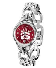 NCAA Montana Grizzlies Ladies Stainless Steel Eclipse AnoChrome