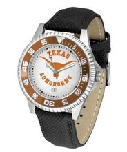 NCAA Texas Longhorns Competitor with Leather Band