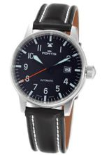 Fortis 595.11.41L Flieger Automatic Black Dial