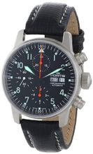 Fortis 597.11.11L Flieger Automatic Chronograph Black Dial