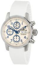 Fortis 597.20.92 SI.02 Flieger White Automatic Chronograph Rubber
