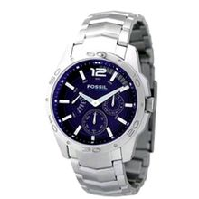 Fossil BQ9346 Stainless Steel Bracelet Blue Analog Dial Multifunction