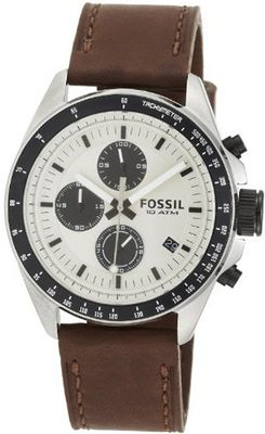 Fossil CH2882 Decker Analog Display Analog Quartz Brown