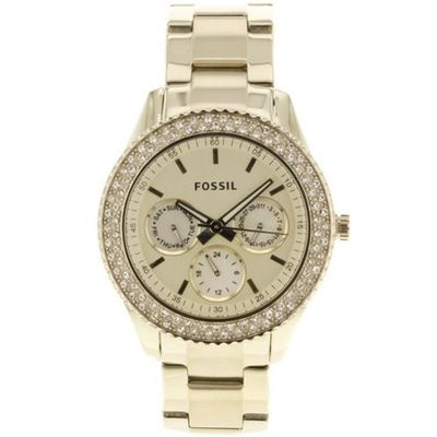 Fossil ES3101 Stainless Steel Analog Gold Dial