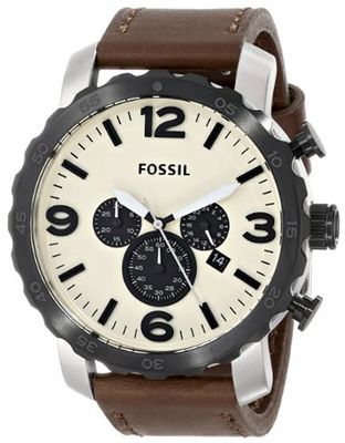 Fossil JR1390 Nate Leather - Brown