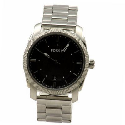 Fossil Machine Three Hand Stainless Steel Fs4773