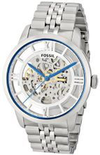 Fossil ME3044 Townsman Analog Display Automatic Self Wind Silver