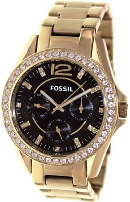 Fossil Riley Multifunction Stainless Steel - Gold-Tone Es3384