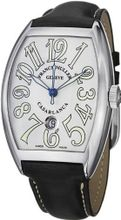 Franck Muller Casablanca Date Black Leather Strap Automatic 8880 C DT SS
