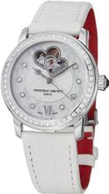 Frederique Constant Automatic Mother of Pearl White Leather Ladies FC-310WHF2PD6