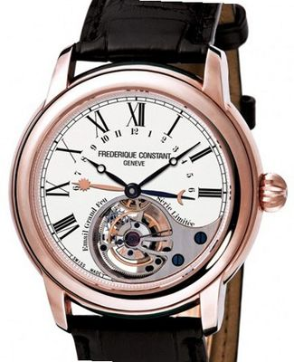 Frederique Constant Heart Beat Manufacture Manufacture Tourbillon Grand Feu