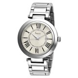 Freelook Unisex HA1134M-4 Cortina Roman Numeral Stainless Steel