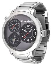 Freestyle 101162 Passage 1-Piece Case Dual Time Compass