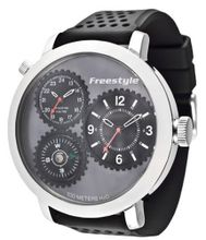 Freestyle 101163 Passage 1-Piece Case Compass Silicone Strap